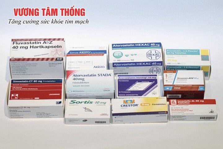3 nhóm thuốc phổ biến trong điều trị máu nhiễm mỡ: Statin, fibrate, niacin,…
